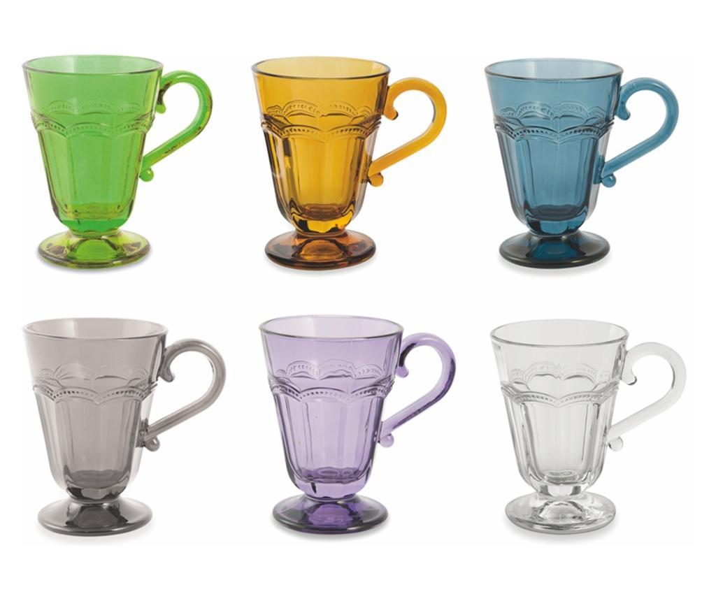 Set 6 pahare pentru apa Fonce - Villa D'Este, Multicolor
