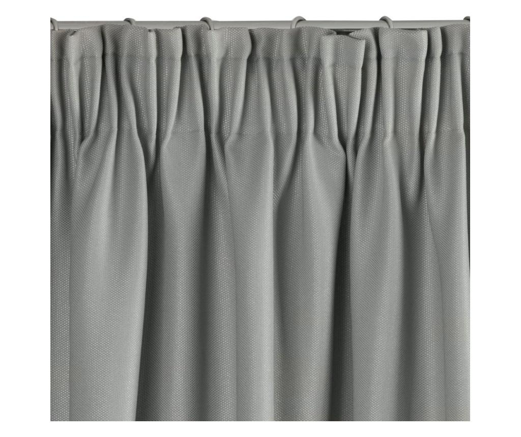 Draperie Aggie Grey & Silver Tape 140x270 cm