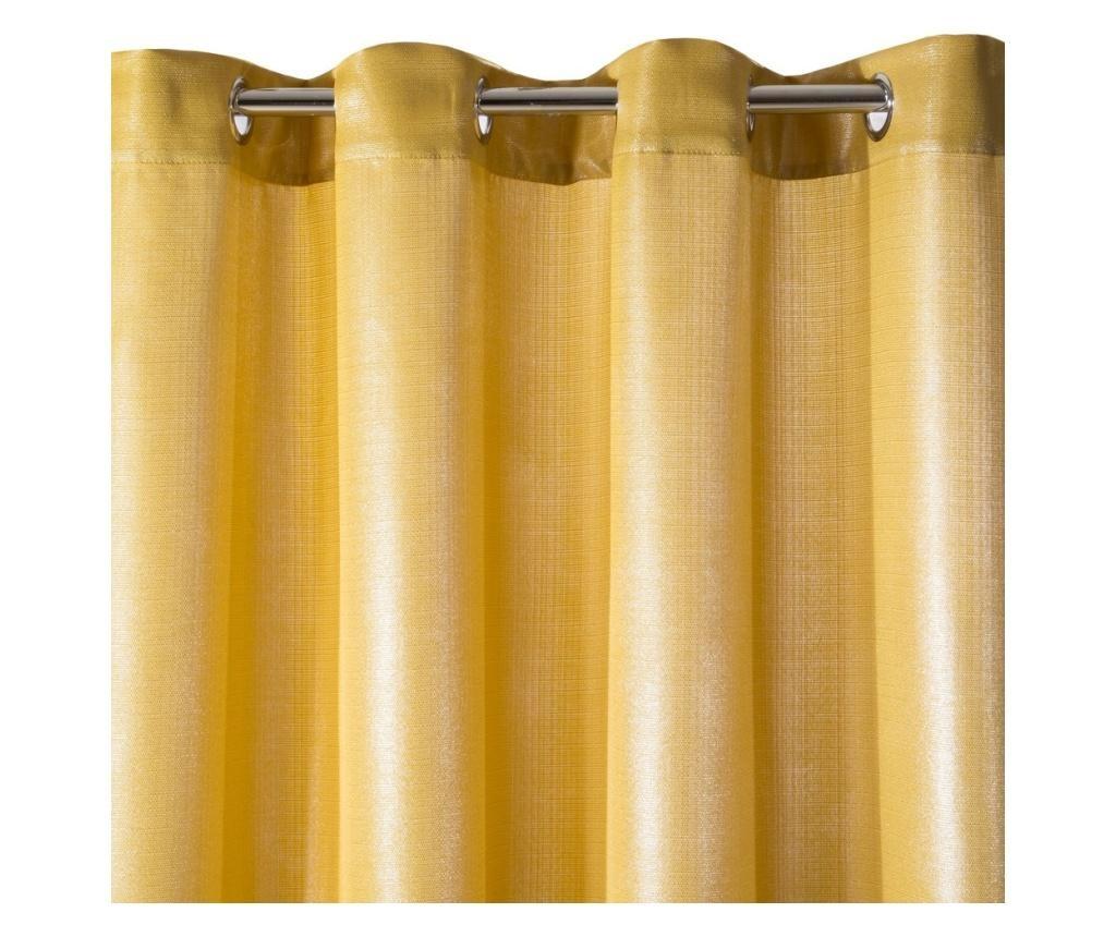 Leila Orange Rings Sötétítő 140x250 cm