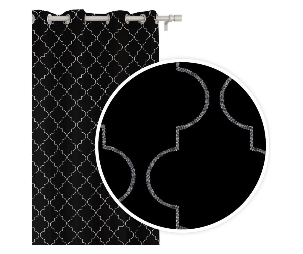 Maroko Black Sötétítő 140x250 cm