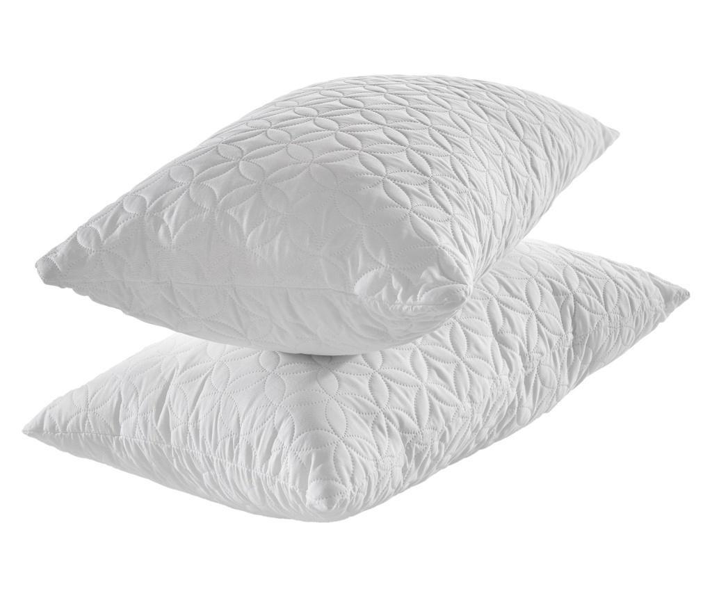 Jastuk  od memorijske pjene Ultrasonic White 50x70 cm
