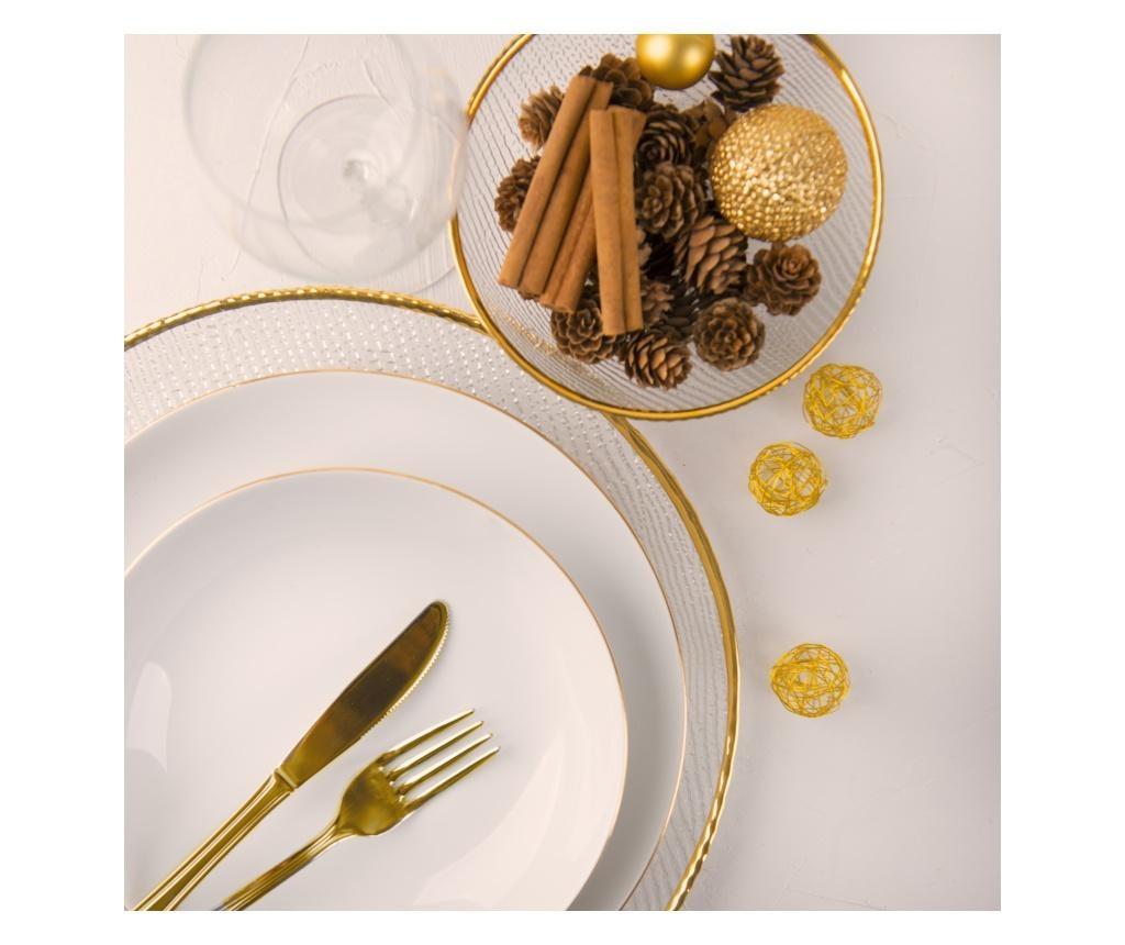 18-dijelni servis za jelo Gold