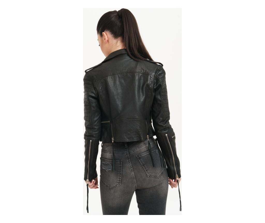 Ženska kožna jakna Jade Black M