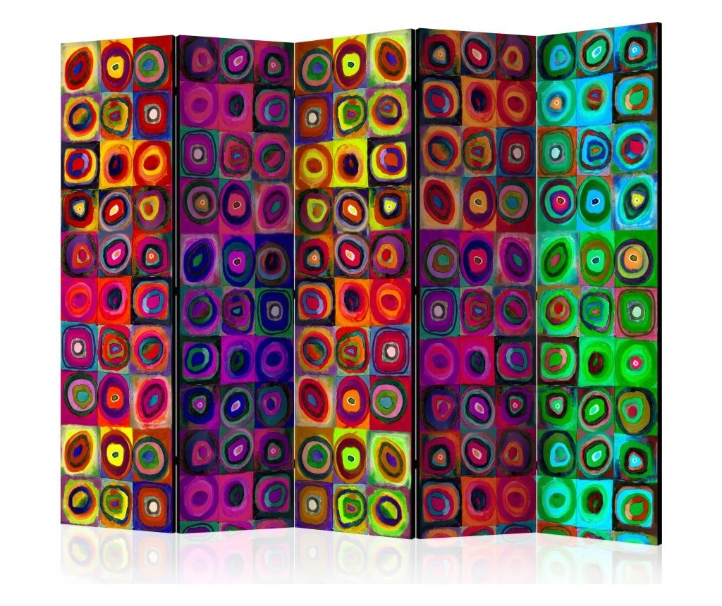 Sobna pregrada Colorful Abstract Art II