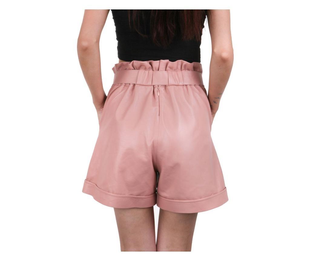 Ženske kožne kratke hlače Iparelde Pink 2XL