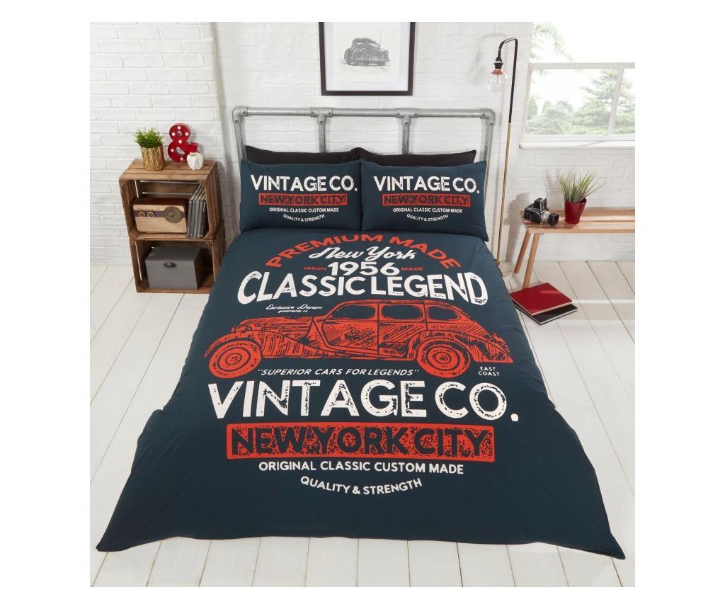 Set de pat Double Extra Classic Legend - Rapport Home, Multicolor
