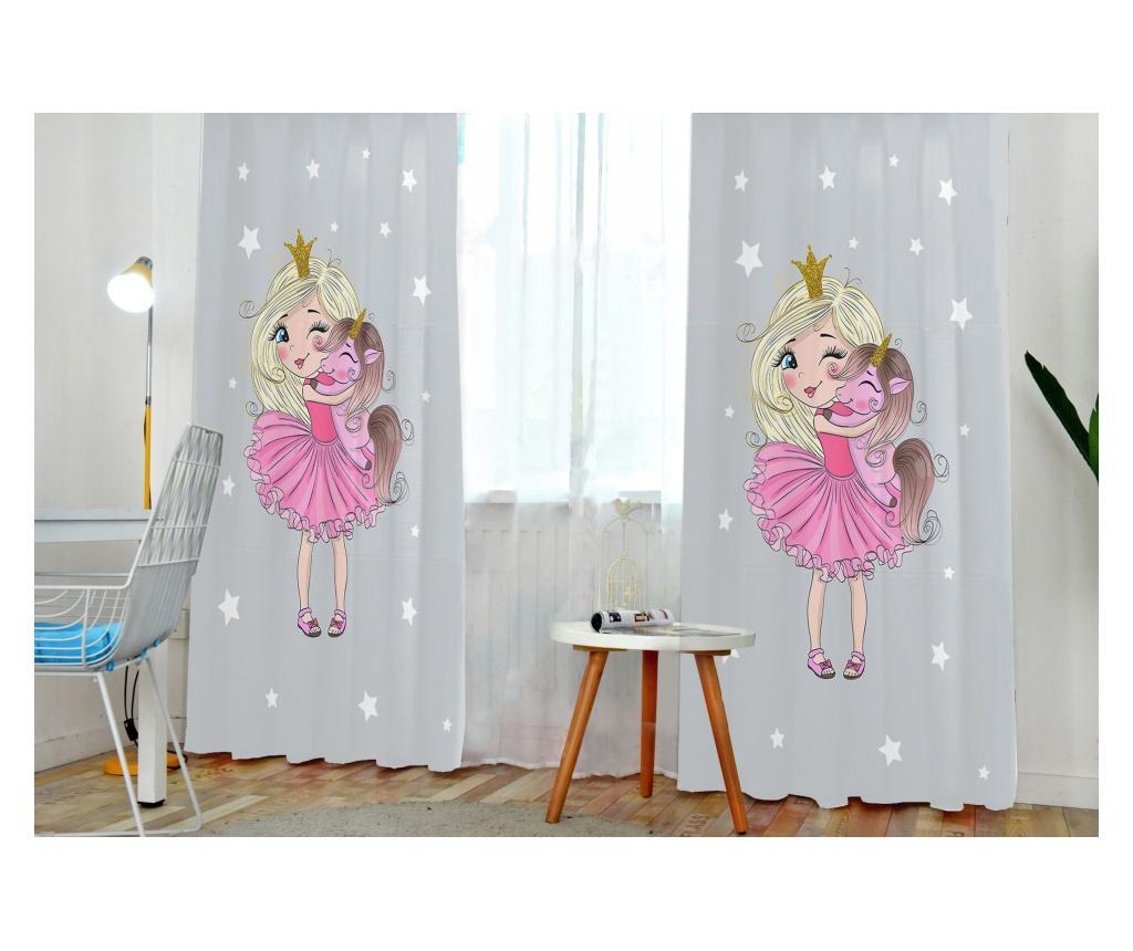 Draperie Baby Unicorn 140x200 cm - JUNGLE, Multicolor