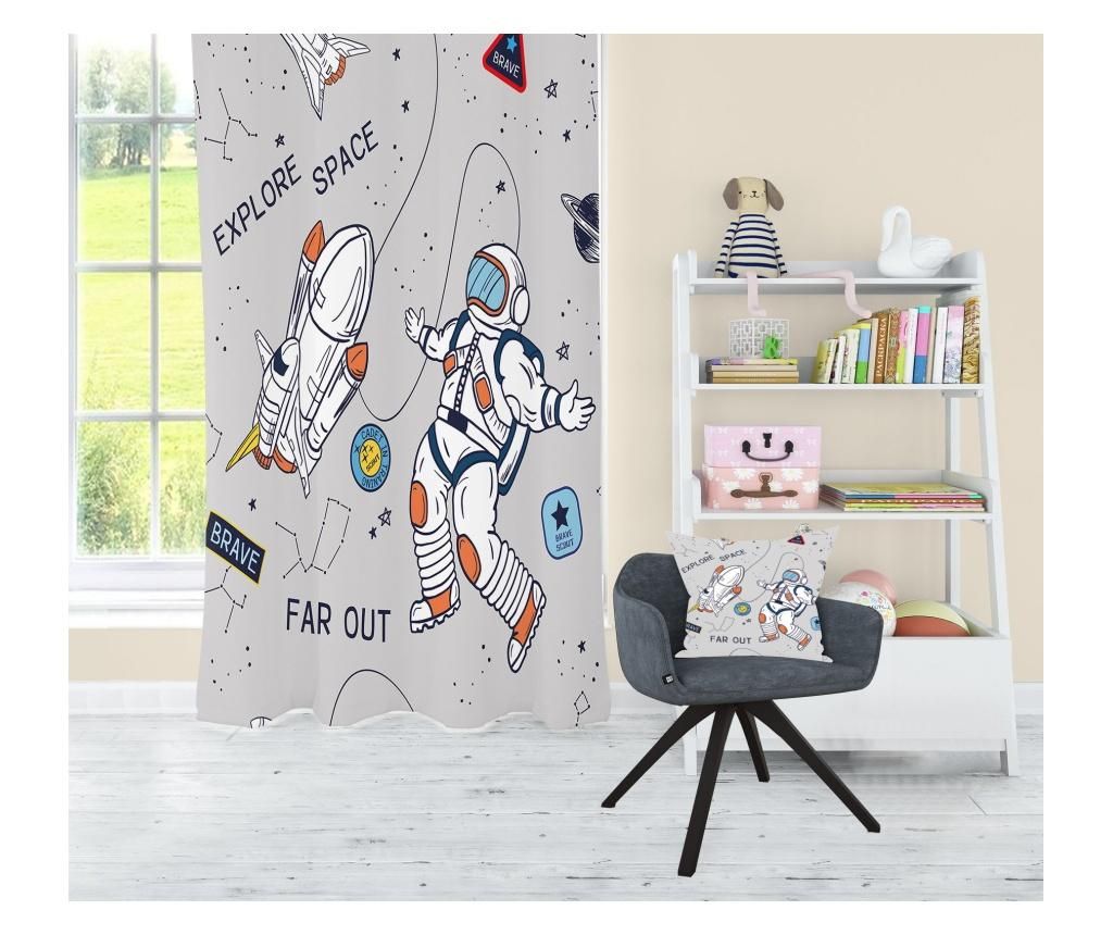 Draperie Astronaut 140x275 cm - JUNGLE, Multicolor