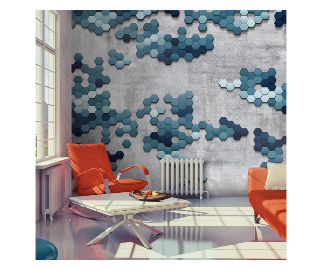 Tapet Sea Puzzle 280x400 cm - Artgeist, Albastru