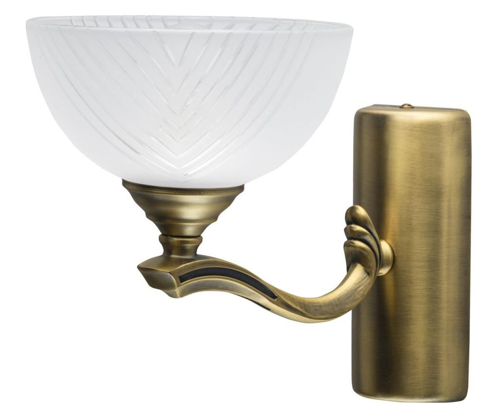 Aplica de perete Aphrodite - Classic Lighting, Alb,Maro