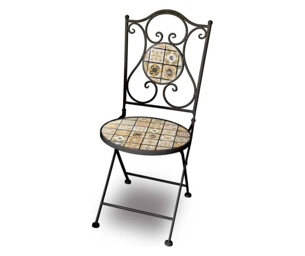 Scaun pentru exterior - Disraeli, Negru