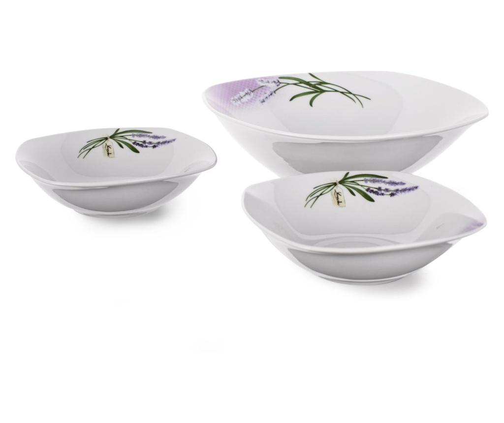 Set 7 boluri Lavender Gradient - Banquet, Alb,Mov