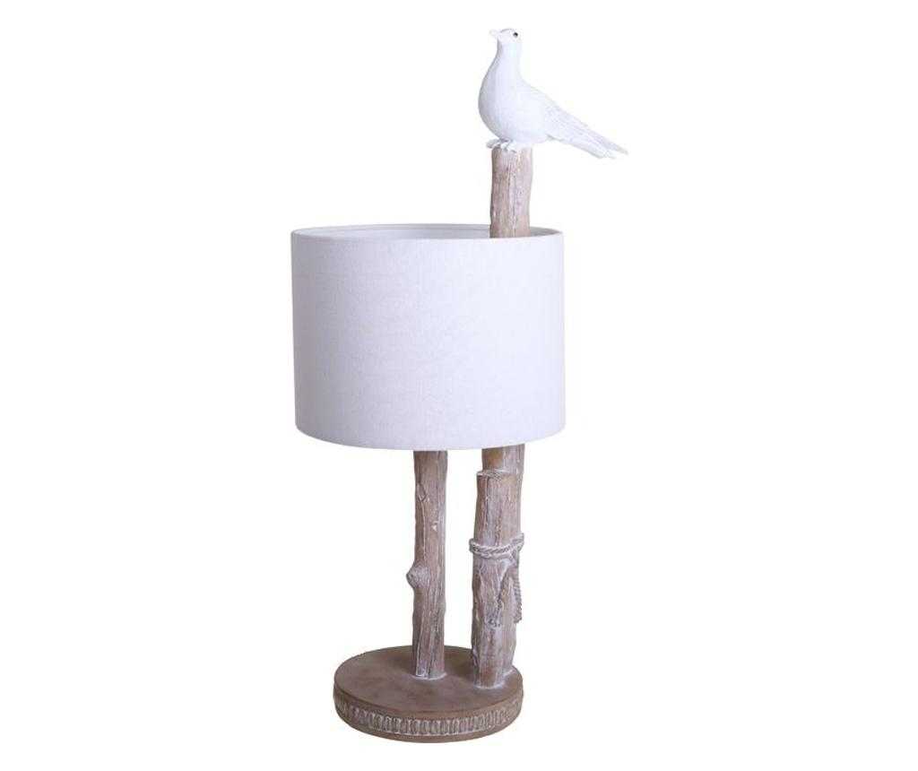 Lampa de masa - Socadis, Alb