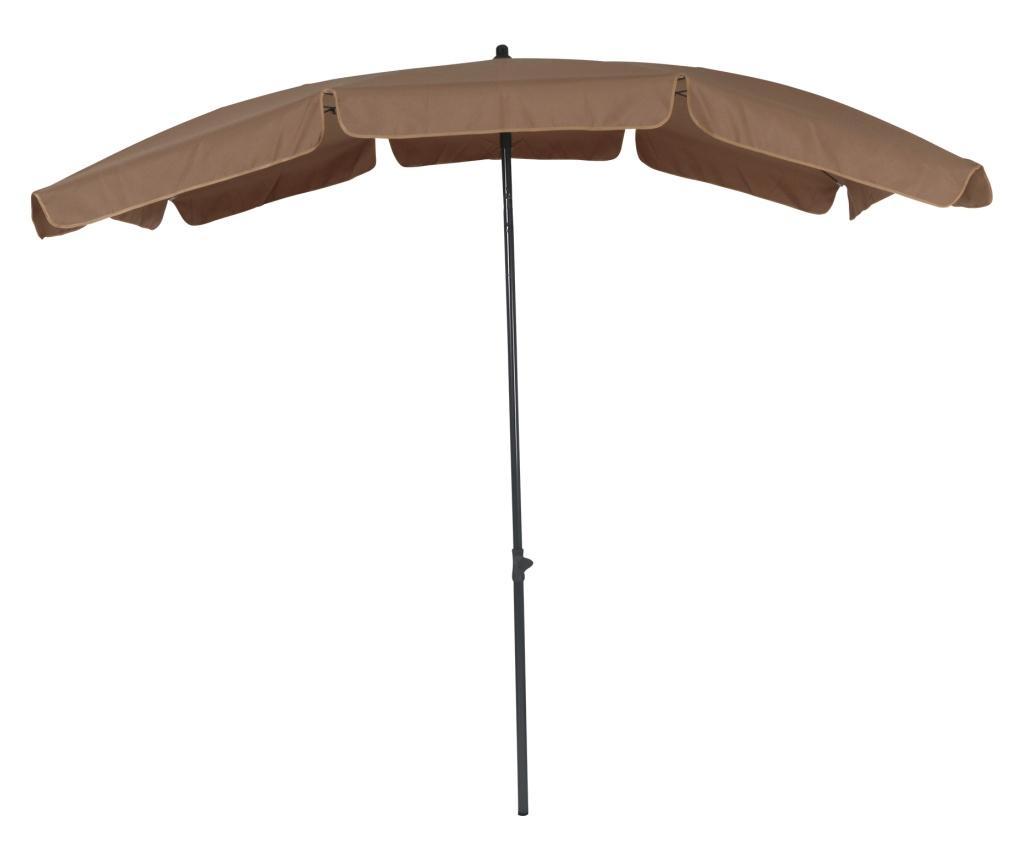 Umbrela de gradina Porto Brown - Greemotion, Maro