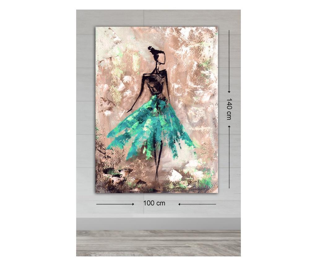 Tablou Philipa 70x100 cm - TABLOCENTER, Multicolor