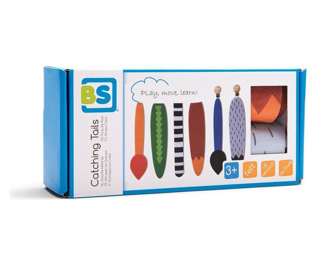 Joc interactiv pentru exterior Catching Tails - BS Toys, Multicolor