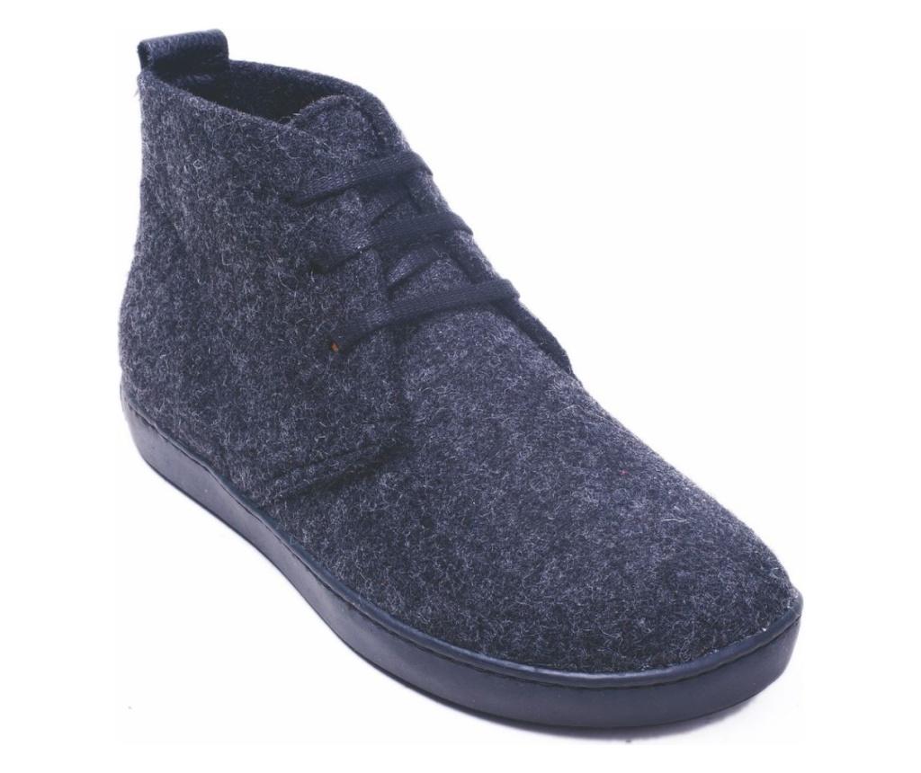 Ghete dama BlasWool Dark Grey 38 - Comfortfüße, Multicolor