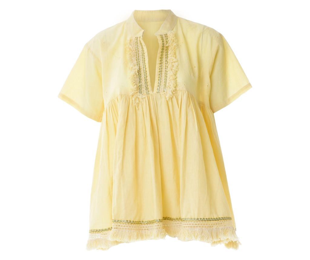 Bluza dama One size - Ble, Galben & Auriu