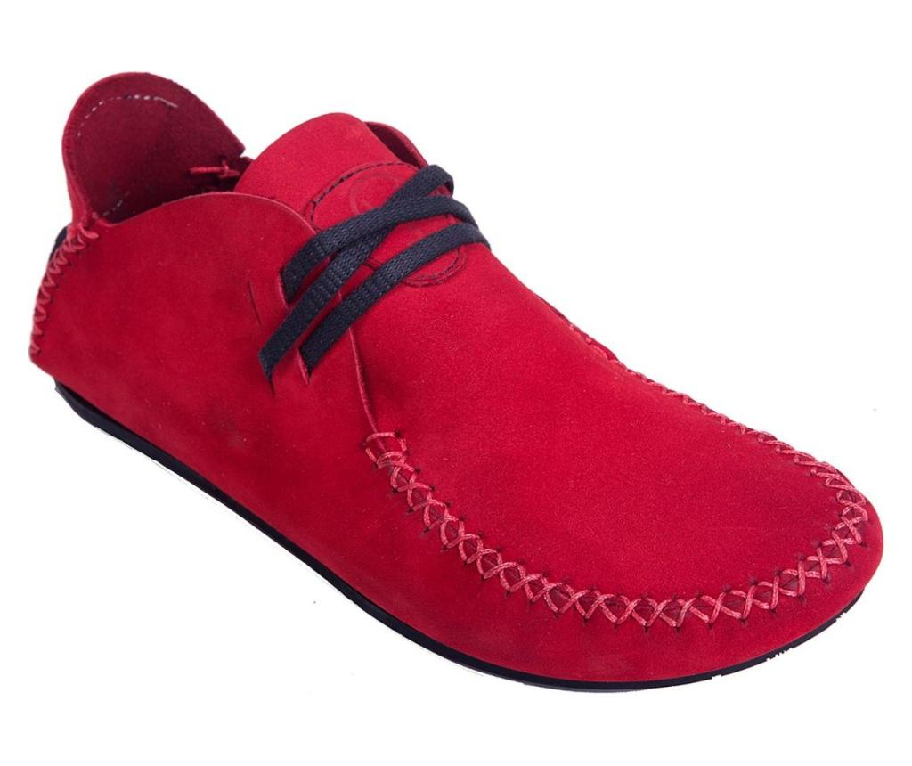 Mocasini dama Maggie Red 37 - Comfortfüße, Multicolor