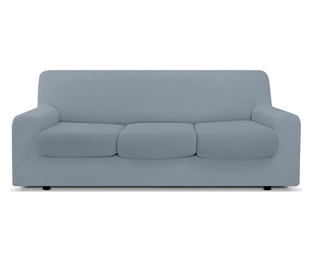 Husa pentru canapea cu 3 locuri Easy Sassi - Co.Ingros.Tex, Gri & Argintiu