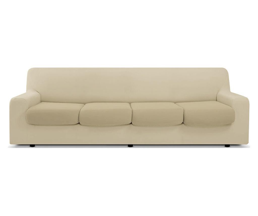 Husa pentru canapea cu 4 locuri Easy Panna - Co.Ingros.Tex, Crem