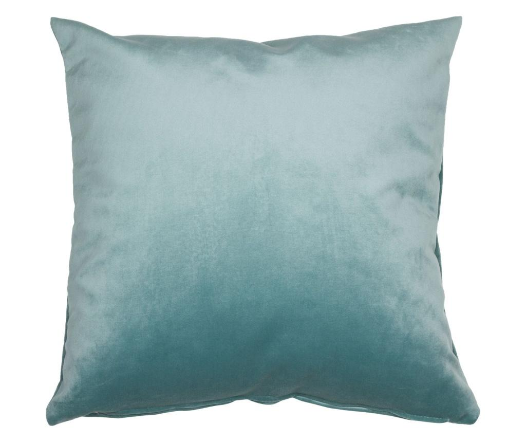 Perna decorativa Velvet Blue 45x45 cm - Santiago Pons, Albastru