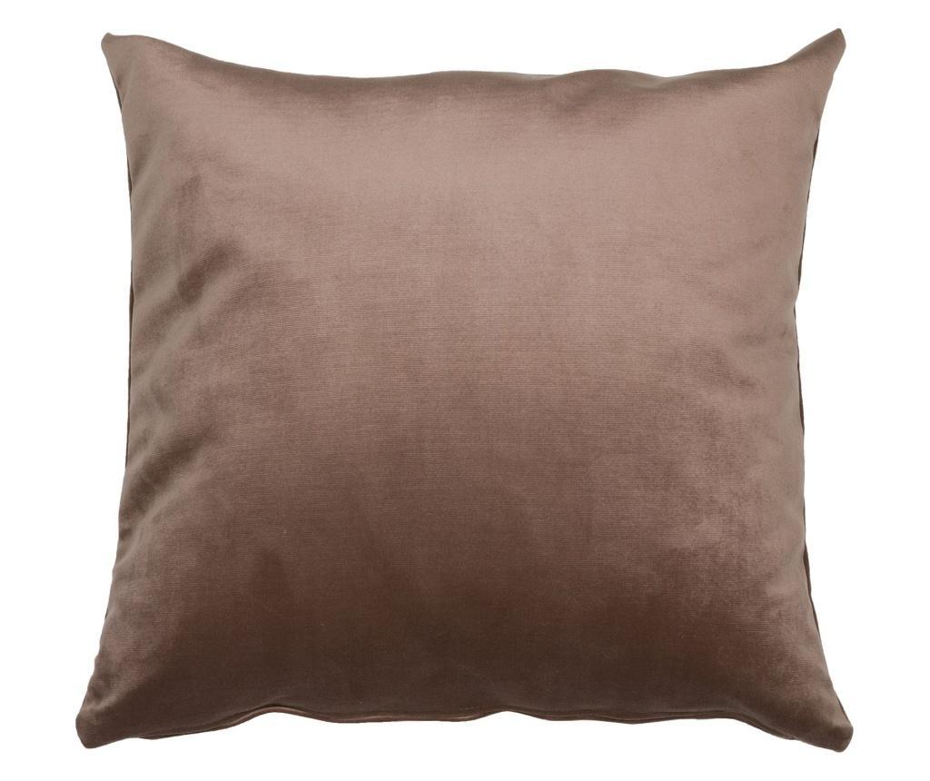 Perna decorativa Velvet Brown 45x45 cm - Santiago Pons