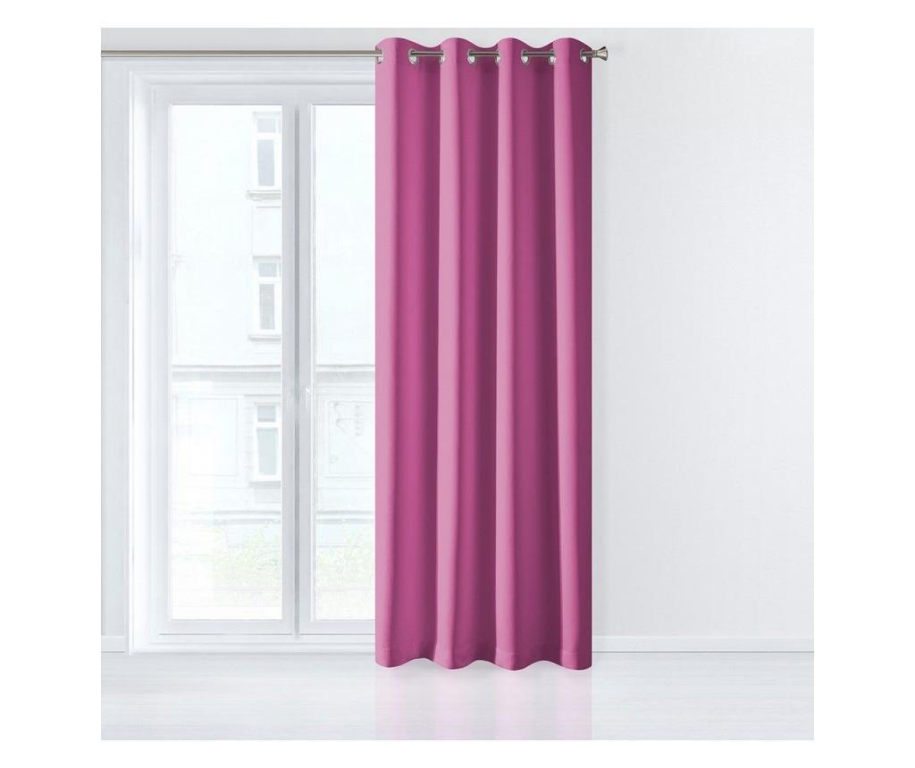 Draperie Adore Pink 140x250 cm - Eurofirany, Roz