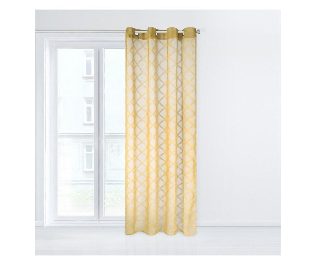 Perdea Betsy Yellow 140x250 cm - Eurofirany, Galben & Auriu