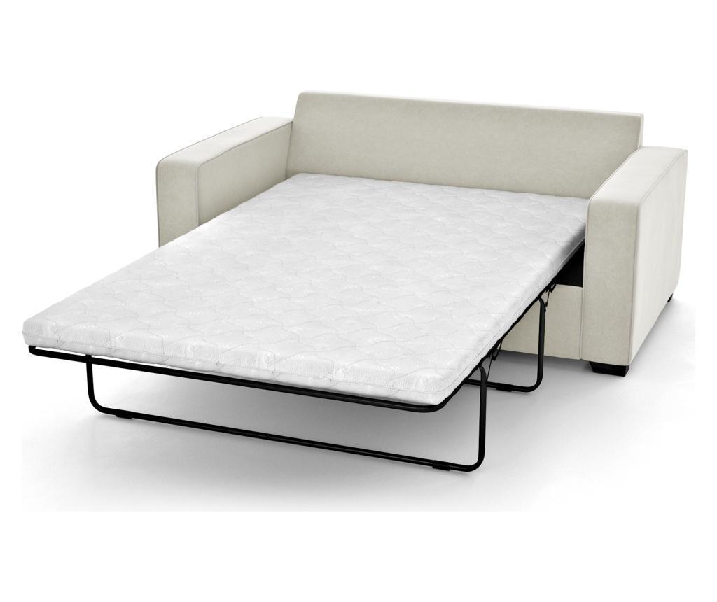 Canapea extensibila 2 locuri Serena Cream