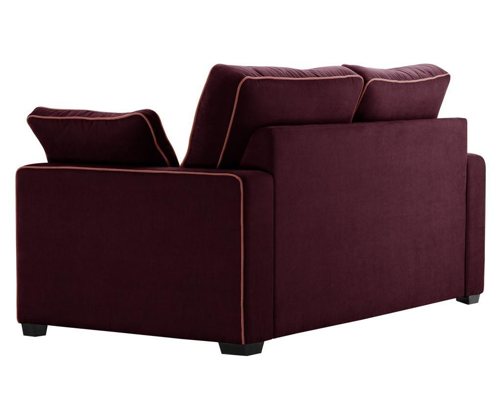 Kauč dvosjed Serena Bordeaux