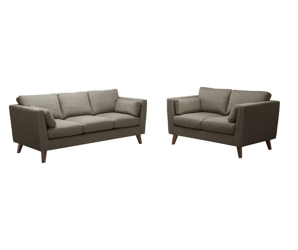 Sofa trosjed Elisa Hazelnut