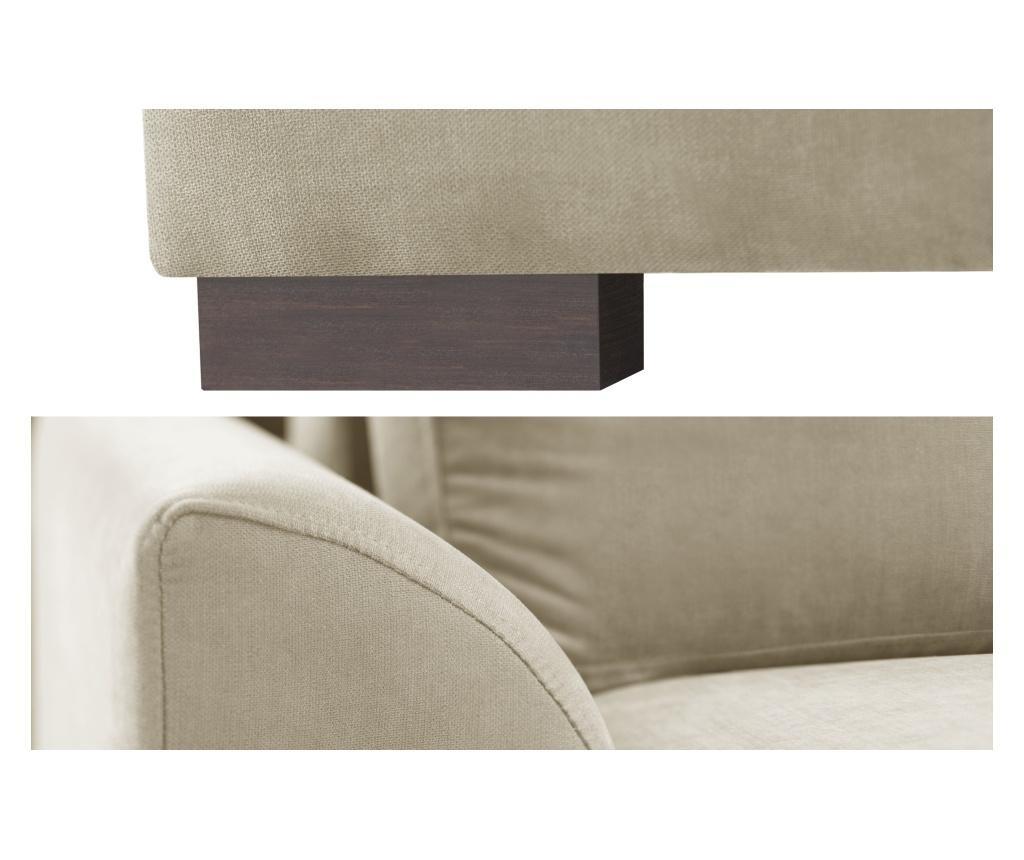 Irina Beige Kihúzható kétszemélyes kanapé