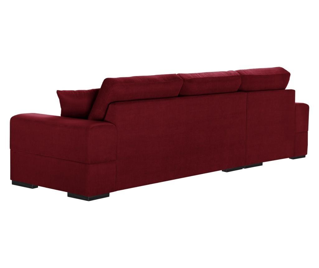 Dasha Glamour Red Baloldali sarokkanapé