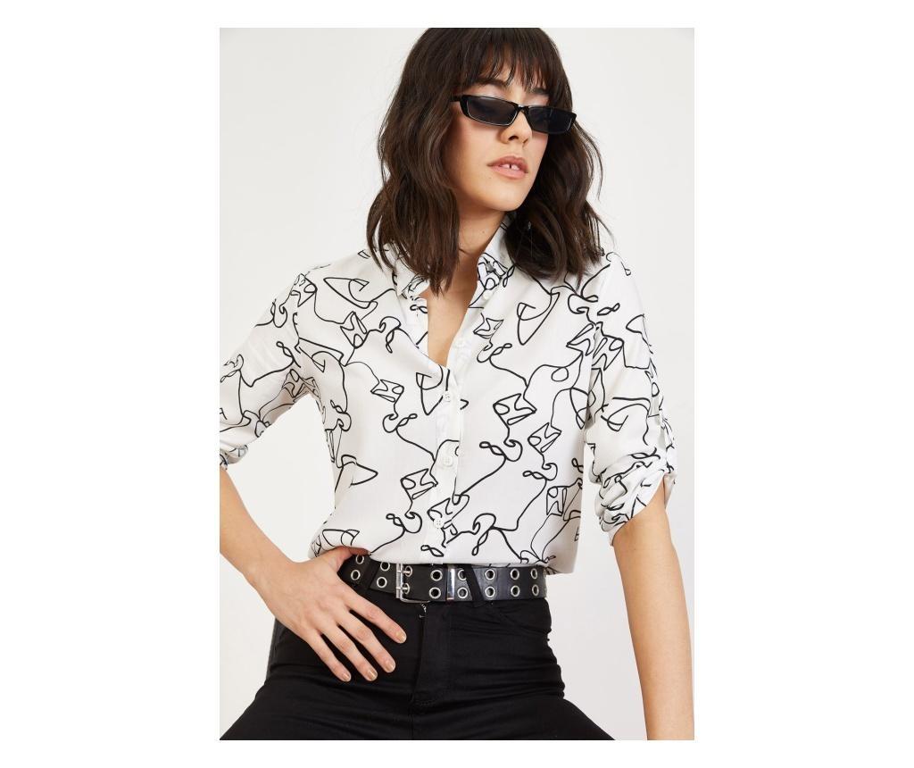 Ženska srajca Bianco Lucci White M