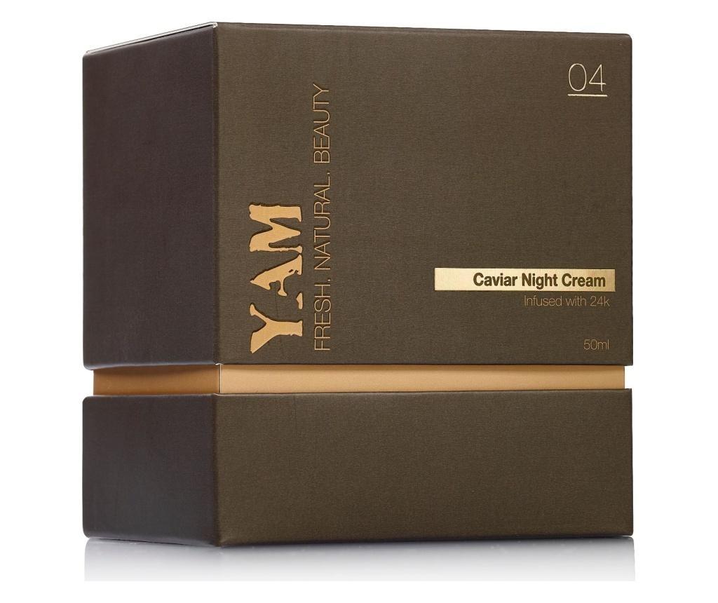 Kavijarska noćna krema infuzirana s 24k YAM 50 ml