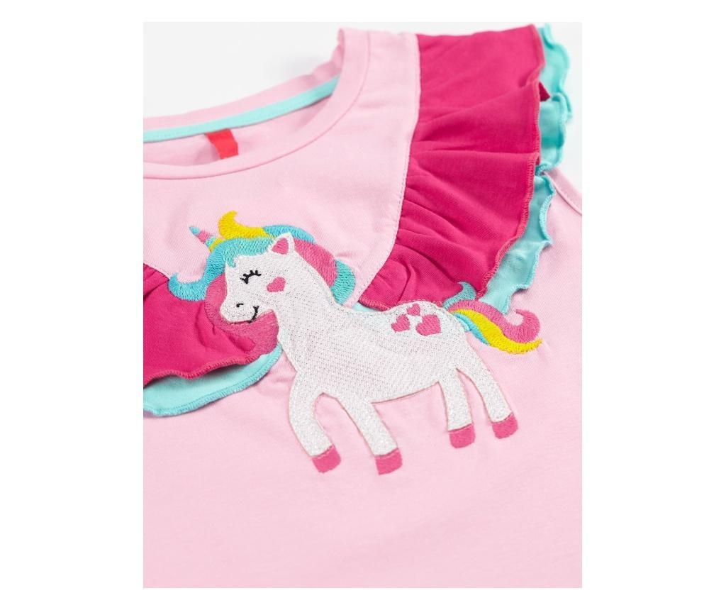 Otroški komplet - tunika in pajkice Ruffled Unicorn 3 years