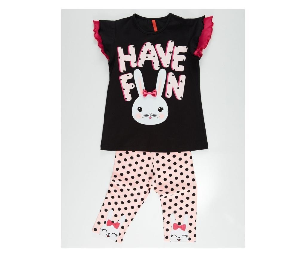 Bunny Fun Gyerek tunika és leggings 5 years