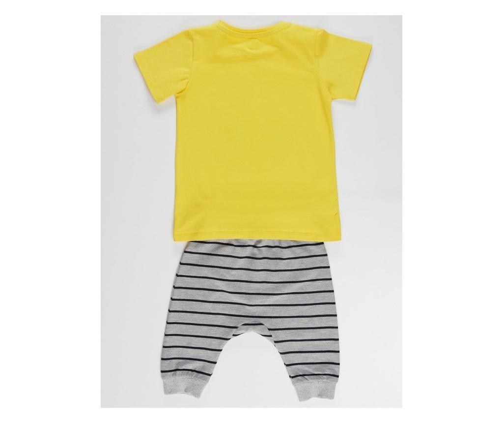 Otroški komplet - majica s kratkimi rokavi in hlače Joyful 8 years