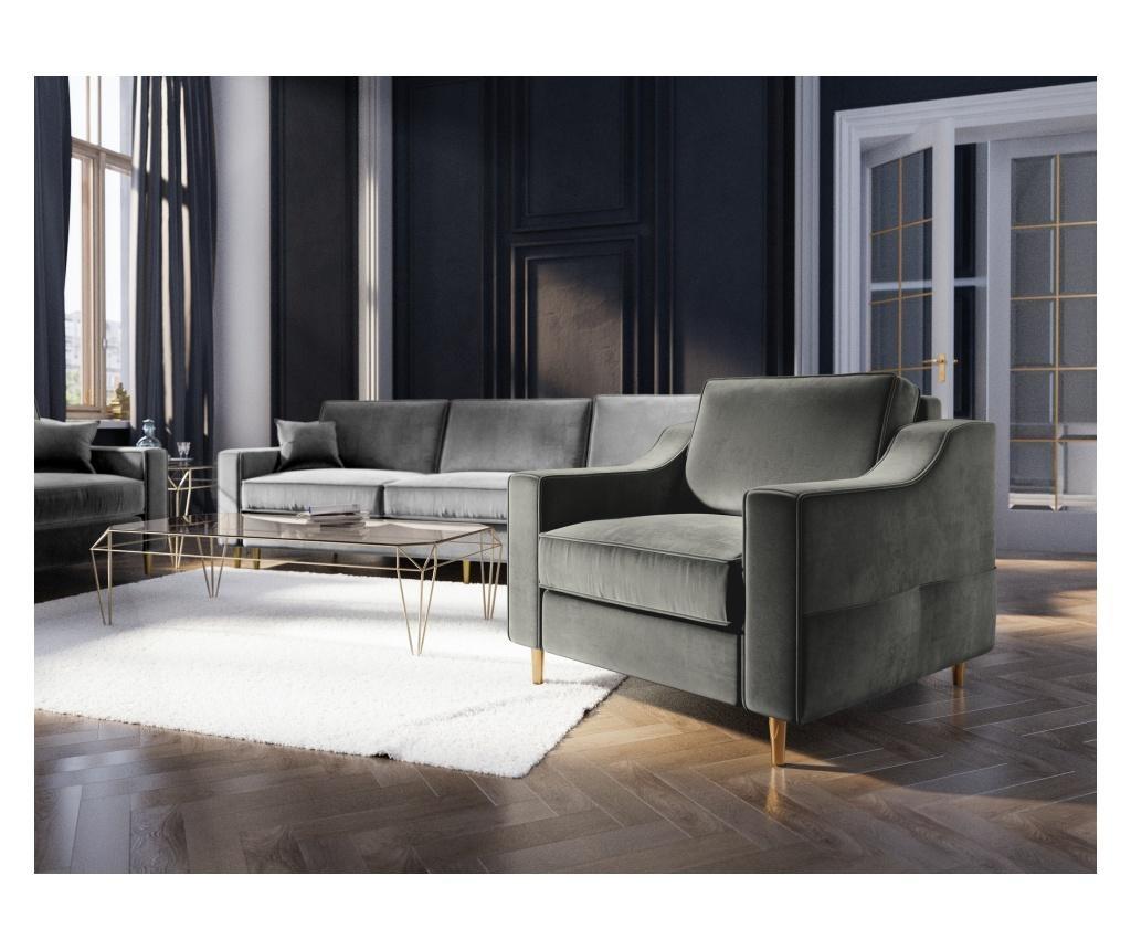 Fotelja Marigold Dark Grey