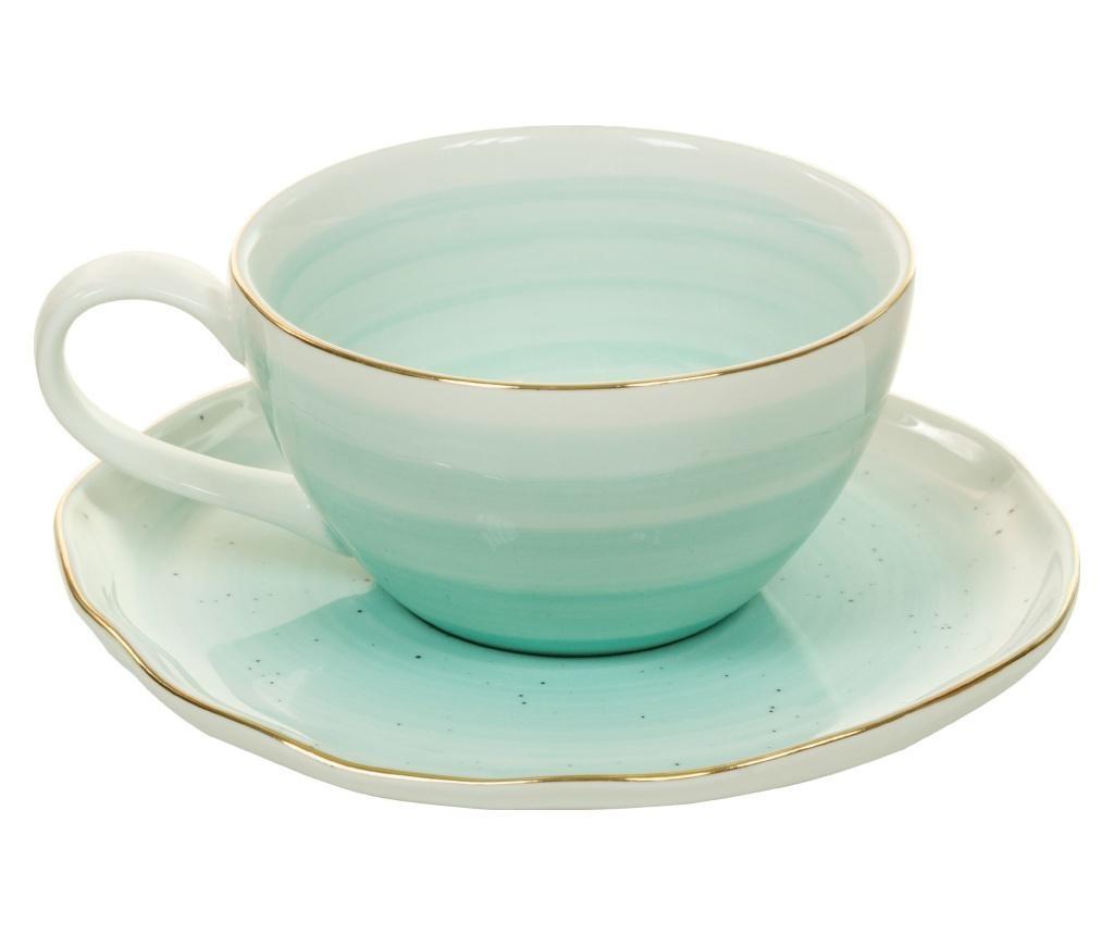 Sandy Blue Csésze és kistányér