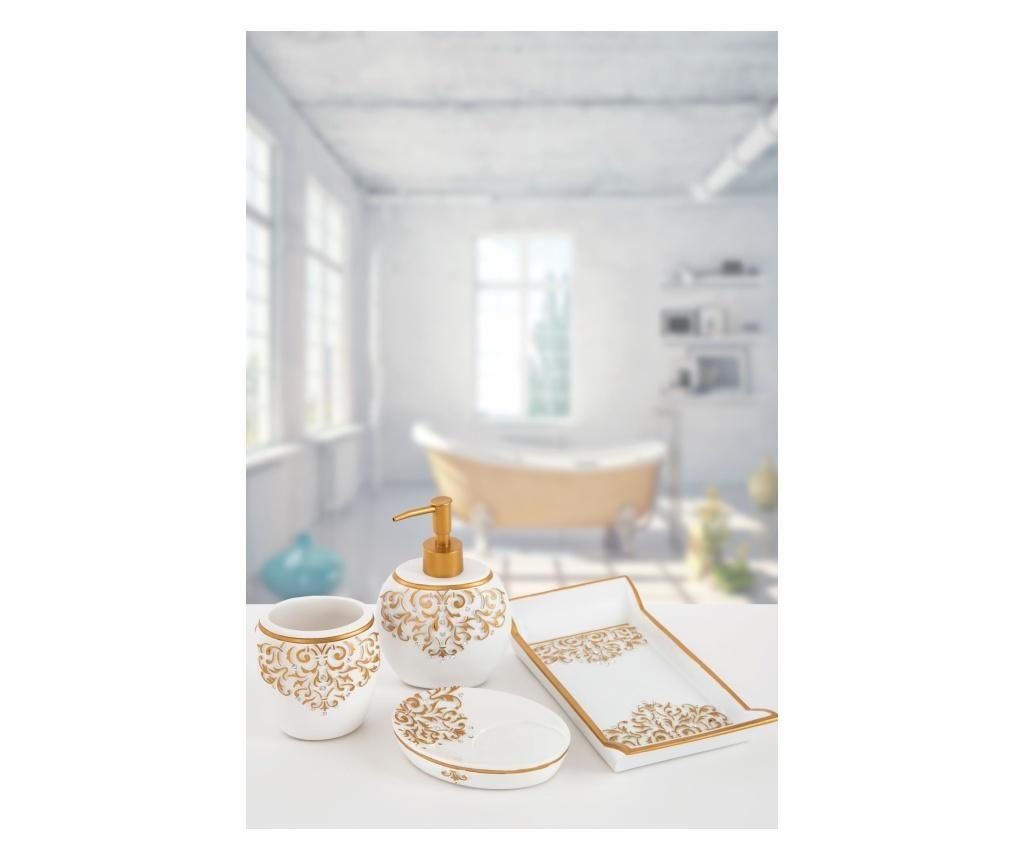 4-delni set kopalniških dodatkov Flossy White