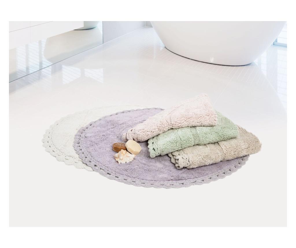 Catty Ecru Fürdőszoba szőnyeg 80 cm