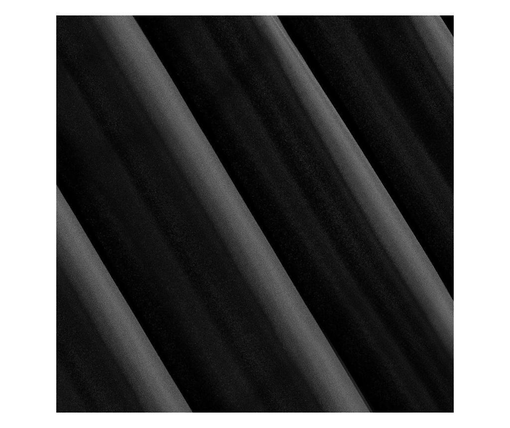 Draperie Adore Black 140x250 cm