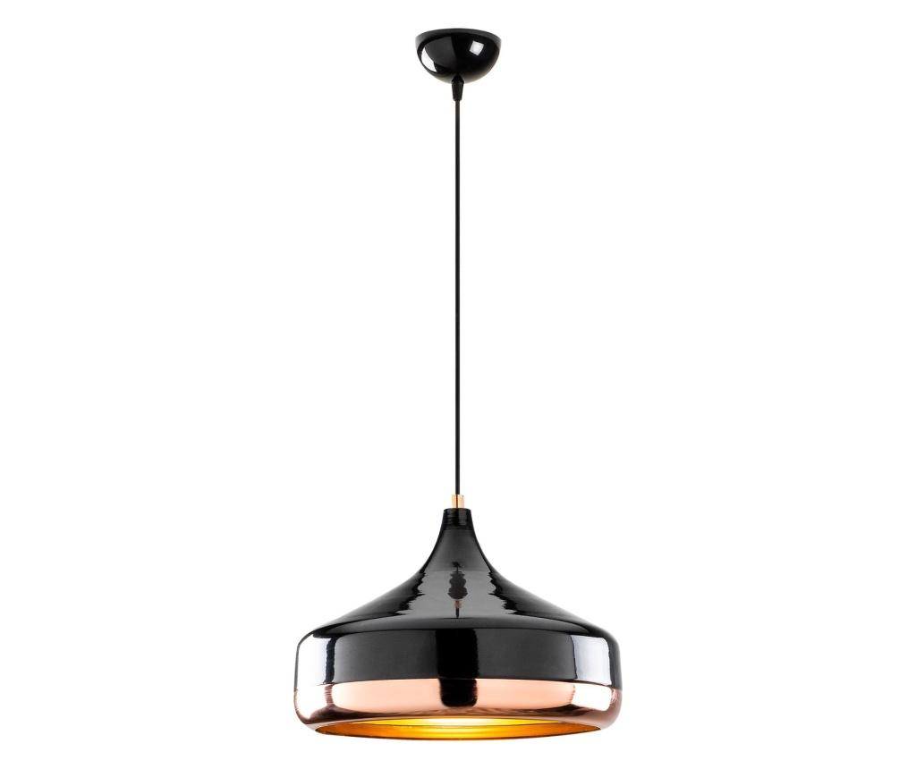 Lustra Yıldo One Black Copper Round - Opviq, Negru