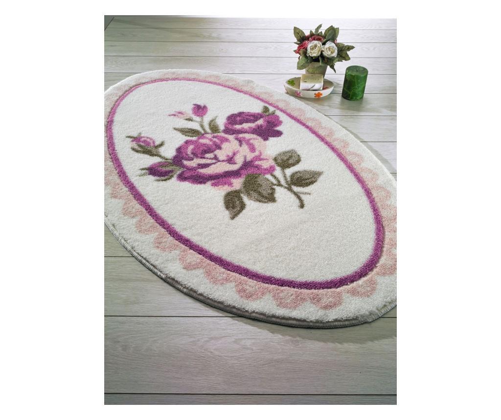 Covoras De Baie Rosa Purplegreenwhite 80x130 Cm - Confetti, Multicolor