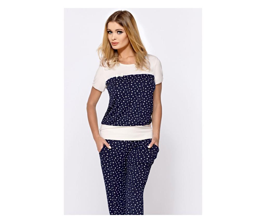 Pijama dama 2 piese 2XL - Hamana, Albastru