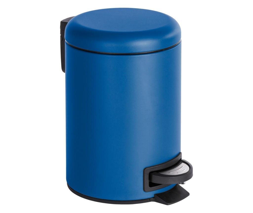 Cos de gunoi cu capac si pedala 3 L - Wenko, Multicolor