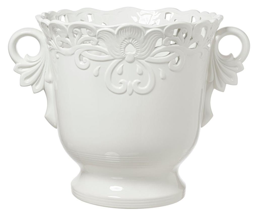 Vas Decorativ Arte Nacchi Alb