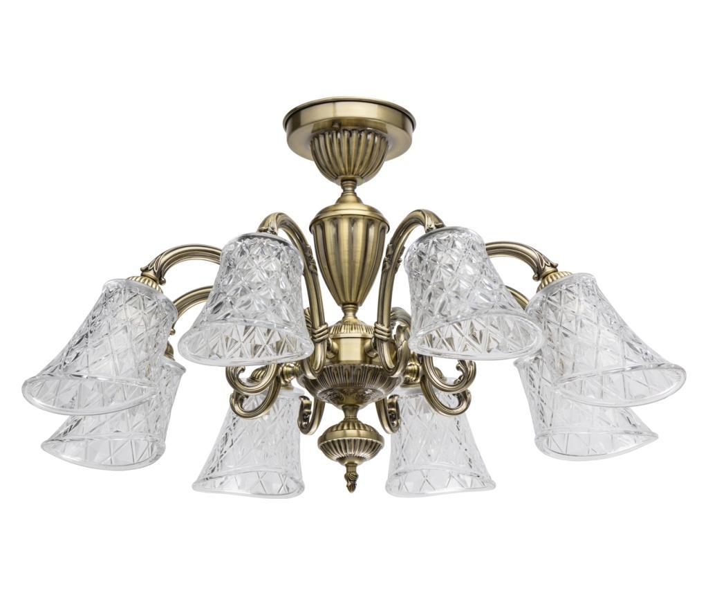 Lustra Ariadna - Classic Lighting, Alb,Maro